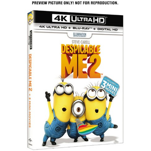 Despicable Me 2 (4K/UHD + Blu-ray + Digital) - image 1 of 1