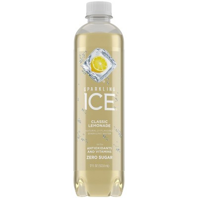 Sparkling Ice Classic Lemonade - 17 fl oz Bottle