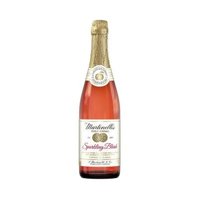 Martinelli's Sparkling Blush 100% Juice - 25.4 fl oz Bottle
