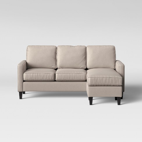 Wondrous Elmhurst Loose Back Cushion Sofa With Reversible Chaise Beige Project 62 Cjindustries Chair Design For Home Cjindustriesco