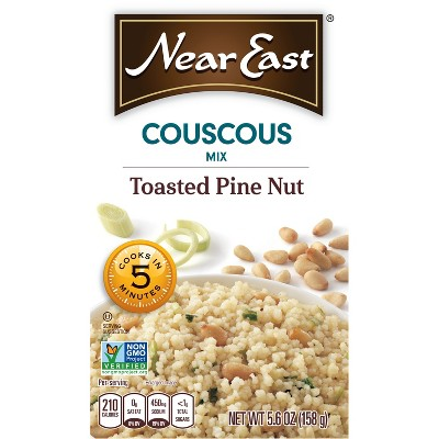 Near East Toasted Pine Nut Couscous Mix - 5.6oz