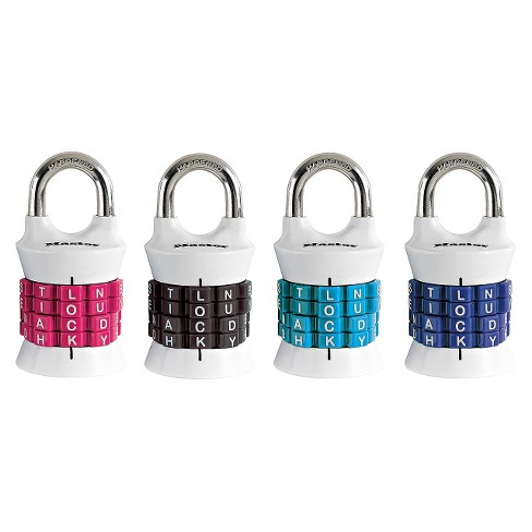 Master Lock Lock Vertical Resettable Lock - image 1 of 1