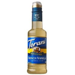 Torani Sugar Free French Vanilla - 12.7oz