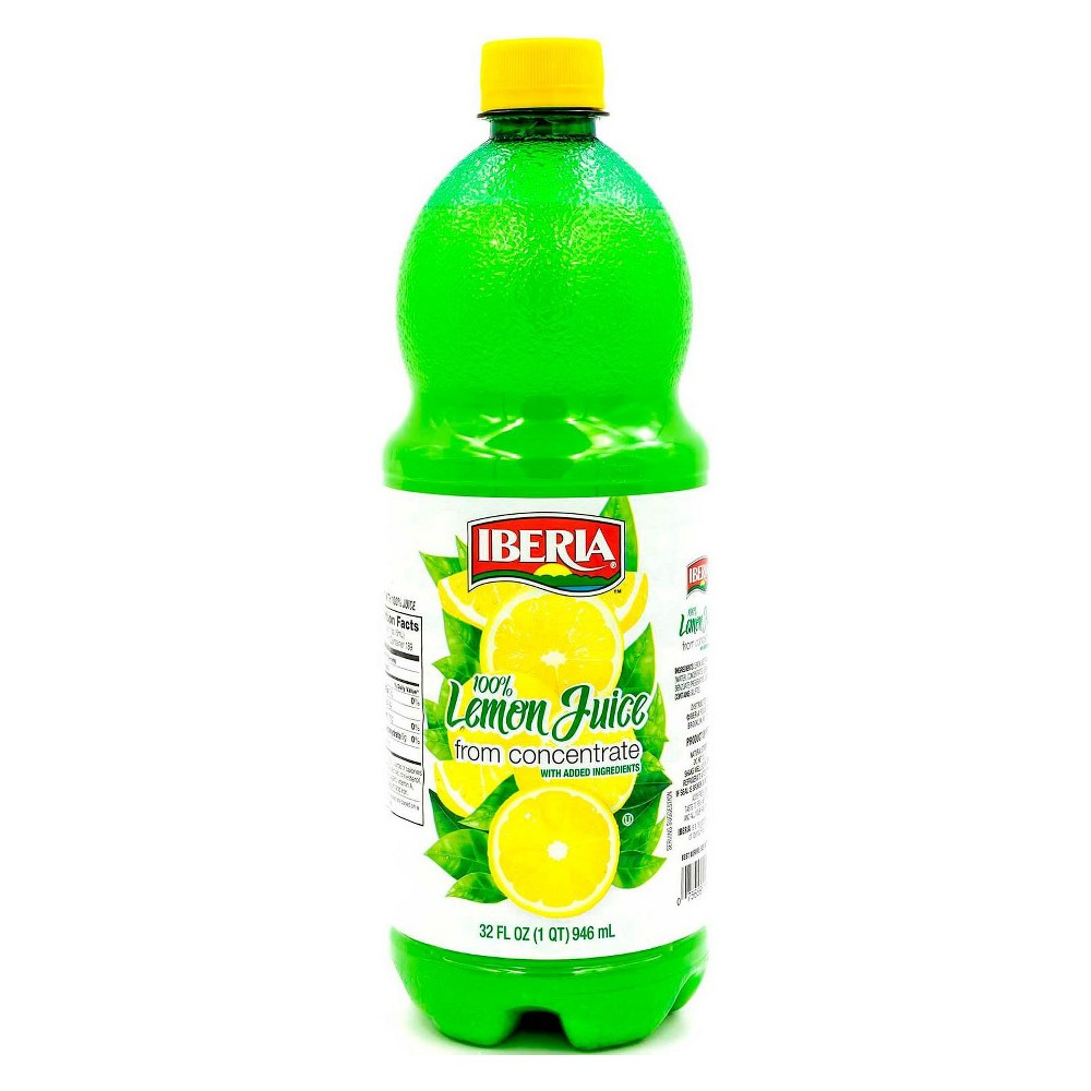 Iberia Lemon Juice from Concentrate - 32 fl oz