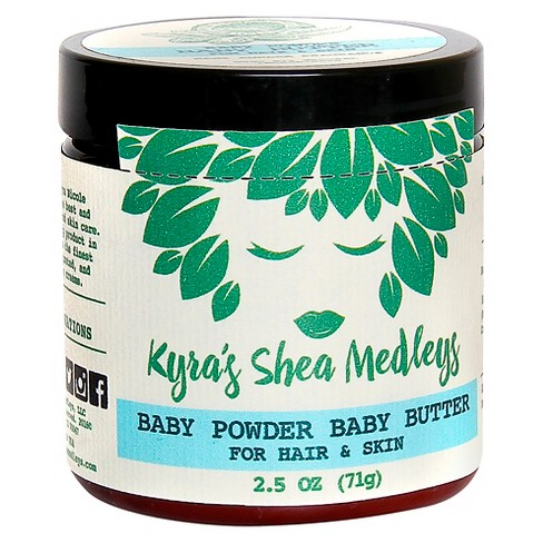 Kyra's Shea Medleys Baby Powder Baby Butter for Hair & Skin - 2.5 oz - image 1 of 3