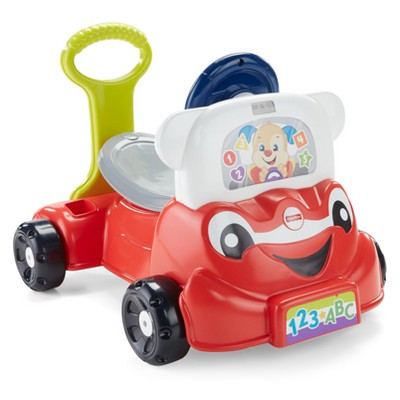 Fisher-Price Laugh and Learn 3-in-1 Smart Car