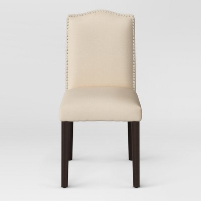 Camelot Nailhead Dining Chair Fully Assembled Cream - Threshold™