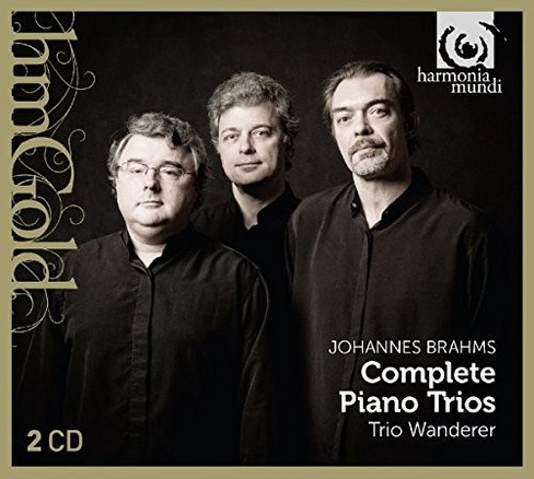 Trio wanderer - Brahms:Complete piano trios (CD) - image 1 of 1