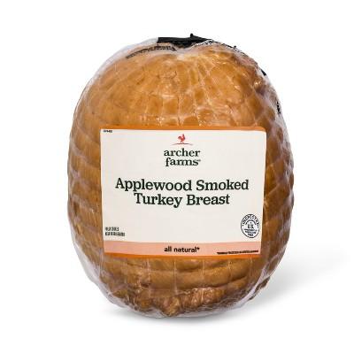 Applewood Smoked Turkey Breast - Deli Fresh Sliced - price per lb - Archer Farms™
