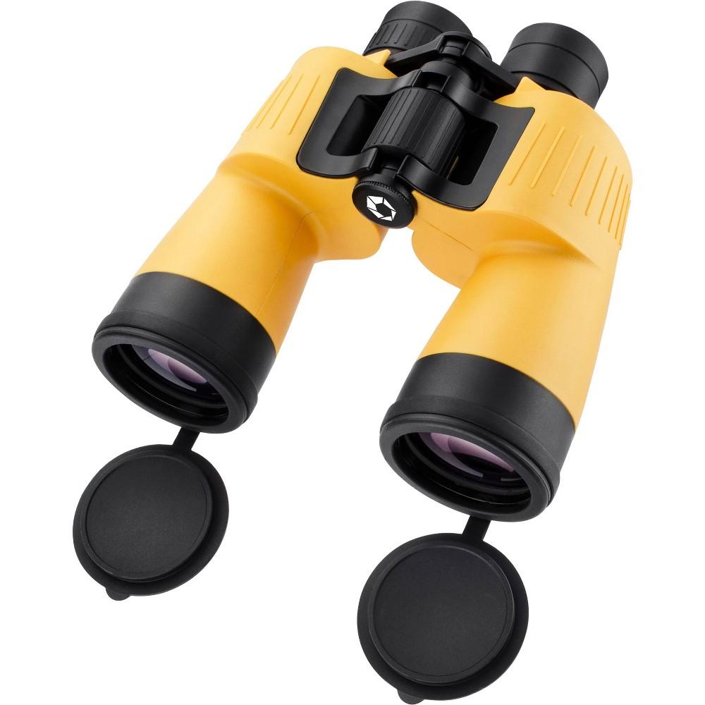 Barska 7x50mm Floating Binocular Yellow