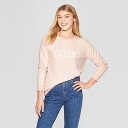 f2cd7a14539 Women's Cheers Graphic Pullover Sweatshirt - Grayson Threads (Juniors') Pink