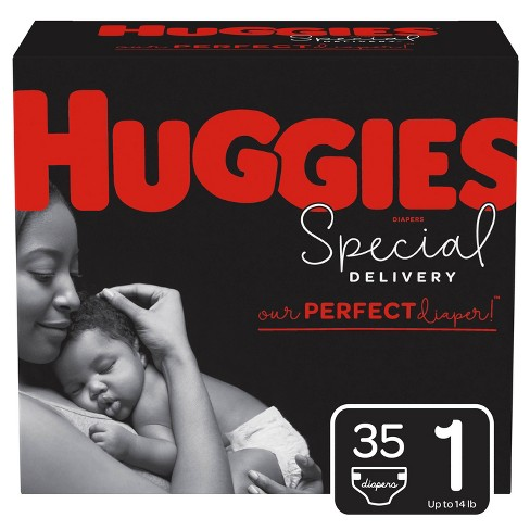 Huggies Jumbo Ultimate Infant 96 Pack 12hrs Leakage Protection