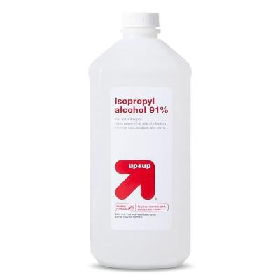 up & up Isopropyl Alcohol 91%