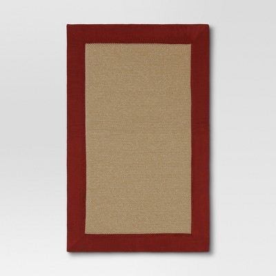 32 x20  Home Border Memory Foam Mat Ruby - Threshold™