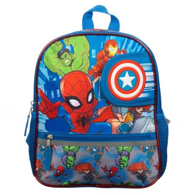 "Marvel Avengers Kids' 12"" Flip Window Backpack"