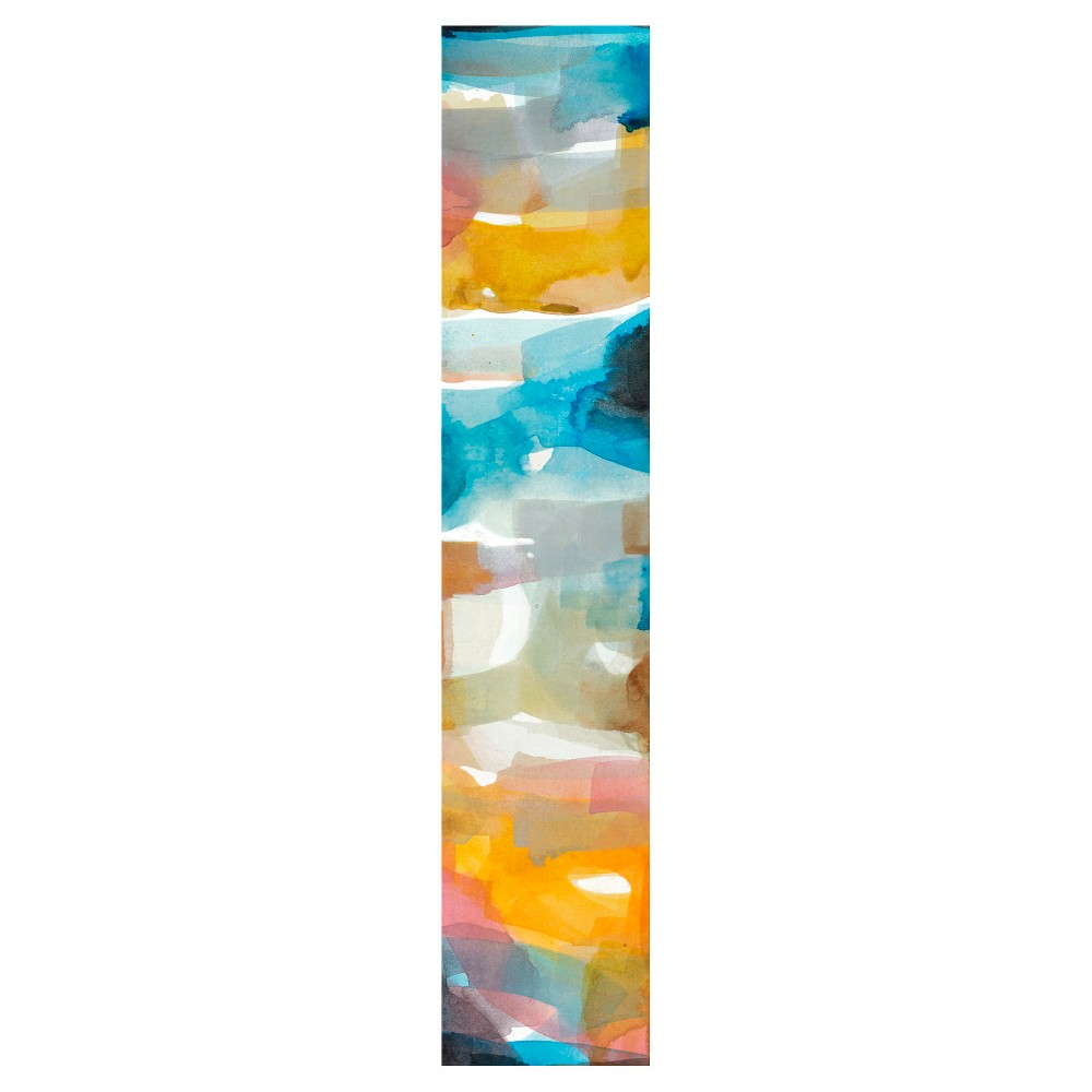 Geyser Point 2 Unframed Wall Canvas Art - (9x45), Multi-Colored
