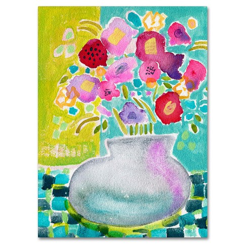 Flowers From A Friend' by Wyanne Ready to Hang Canvas Wall Art - image 1 of 3