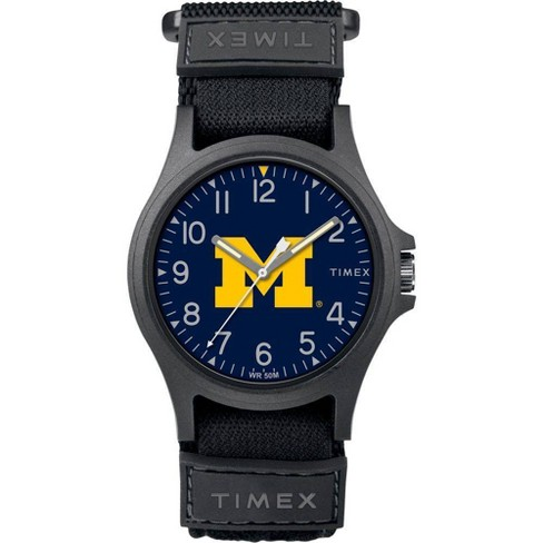 NCAA Michigan Wolverines Tribute Collection Pride Men's Watch - image 1 of 1