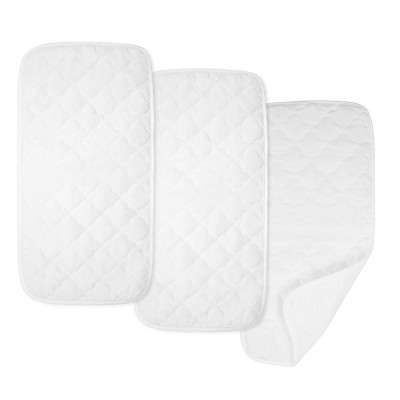 TL Care Waterproof Quilted Changing Table Pad Liners - 3pk