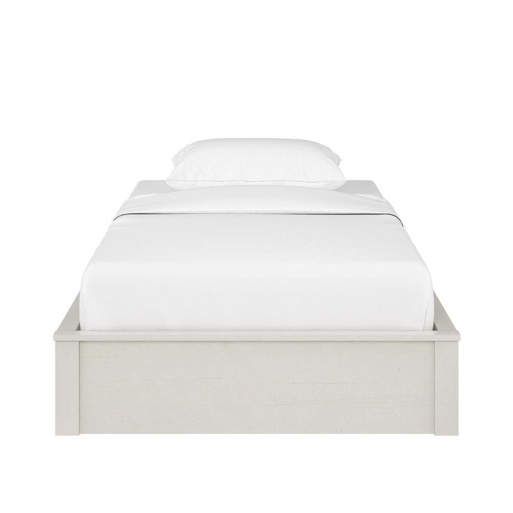 Sullivan Platform Bed Frame (Queen) Vintage White - Room & Joy
