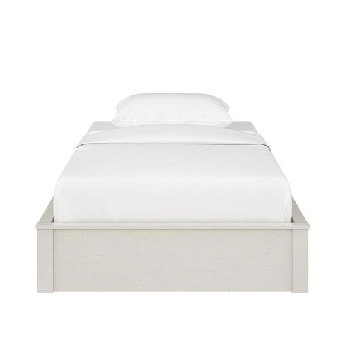 Sullivan Platform Bed Frame Twin Vintage White Room Joy