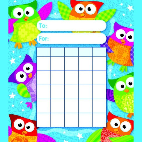 Trend Enterprises Owl-Stars Incentive Pads, pk of 36 - image 1 of 1