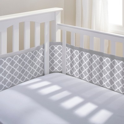 Breathable Baby® Clover Mesh Liner - Gray