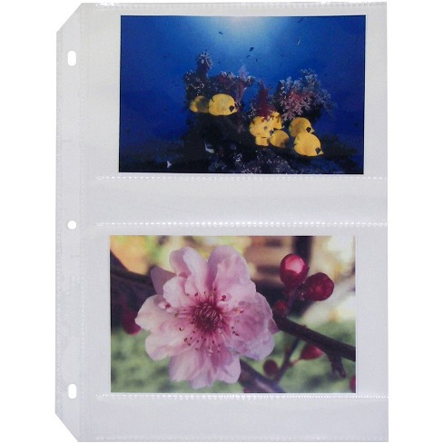 """C-Line Photo Holders Side Load Holds 4 Photos 4""""x6"""" 50/BX CL 52564 - image 1 of 1"""