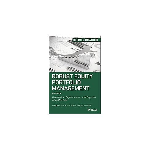 Robust Equity Portfolio Management Website Formulations