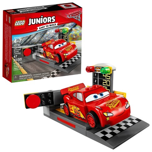 Lego Juniors Disneypixar Cars 3 Lightning Mcqueen Speed Launcher