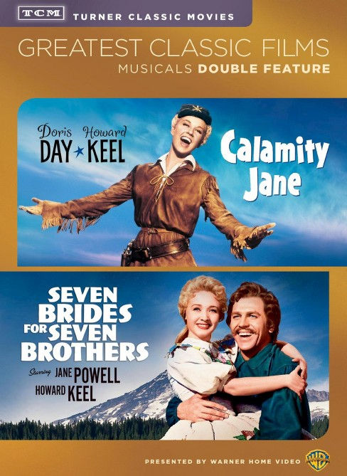 Calamity jane/Seven brides for seven (DVD) - image 1 of 1