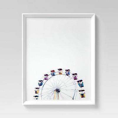 """16"""" x 20"""" Ferris Wheel Framed Wall Art - Project 62™"""