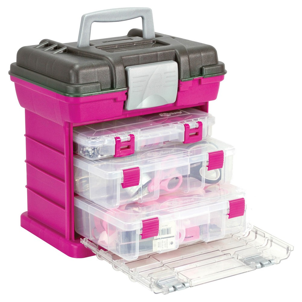 Image of Creative Options Scrapbooking Tool Organizer - Pink