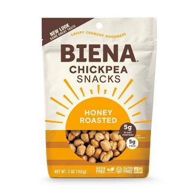 Biena Honey Roasted Chickpeas 5oz