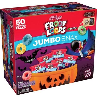 Froot Loops Halloween Jumbo Snax - 11.01oz