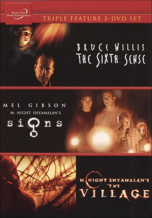 Signs/The Village/The Sixth Sense [3 Discs] - image 1 of 1