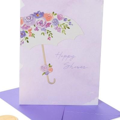 Happy Shower Umbrella Print Card - PAPYRUS