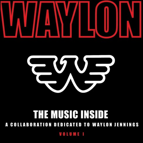 Various Artists - The Music Inside: A Collaboration Dedicated to Waylon Jennings, Vol. 1 (CD) - image 1 of 1