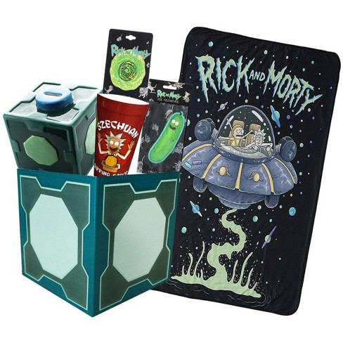 Toynk Rick and Morty Collectibles | Collector's LookSee Box | Throw Blanket and More - image 1 of 2