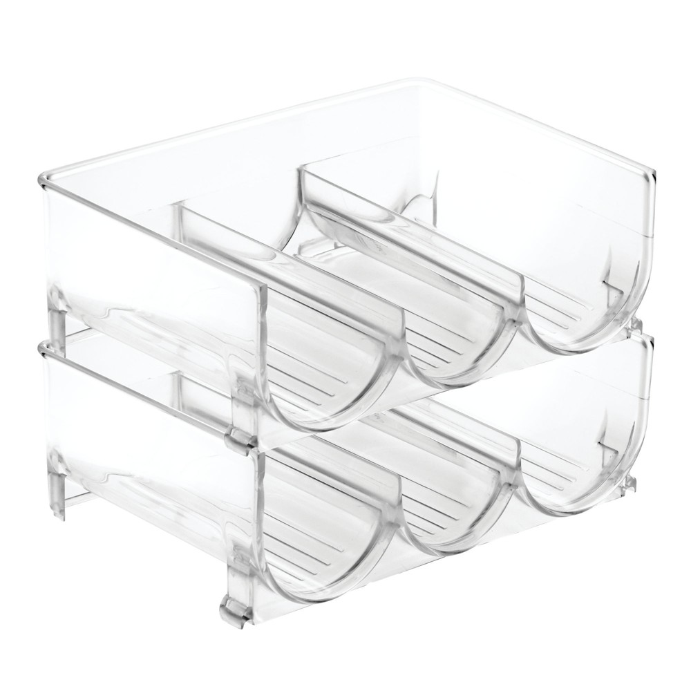 InterDesign Pantry Cabinet Bins 2pk Clear