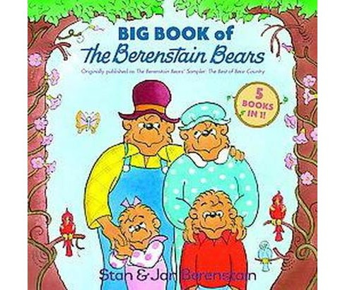 Big Book of the Berenstain Bears (Reissue) (Hardcover) (Stan Berenstain) - image 1 of 1
