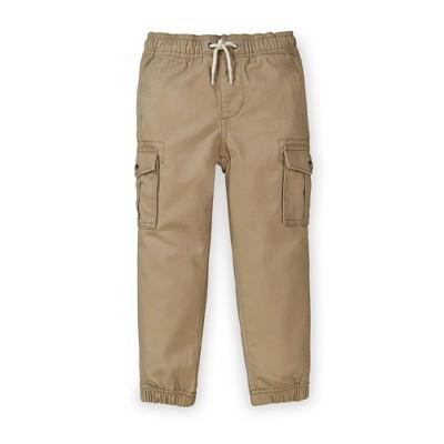 Hope & Henry Boys' Khaki Cargo Jogger Pant, Toddler