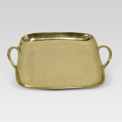 Square Metal Tray - Gold - Project 62™
