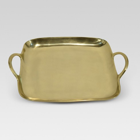 Square Metal Tray - Gold - Project 62™ - image 1 of 2