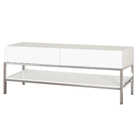Lewis TV Stand White - Buylateral - image 1 of 4