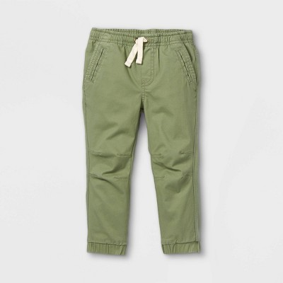 Toddler Boys' Knit & Woven Pull-On Jogger Chino Pants - Cat & Jack™