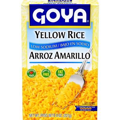 Goya Low Sodium Yellow Rice 8oz