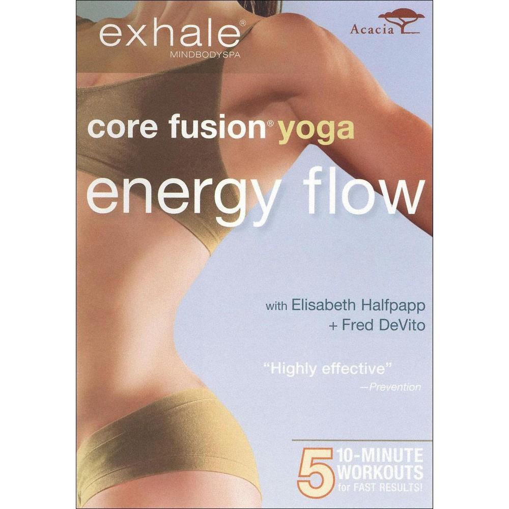 Exhale:Core Fusion Yoga Energy Flow (Dvd)
