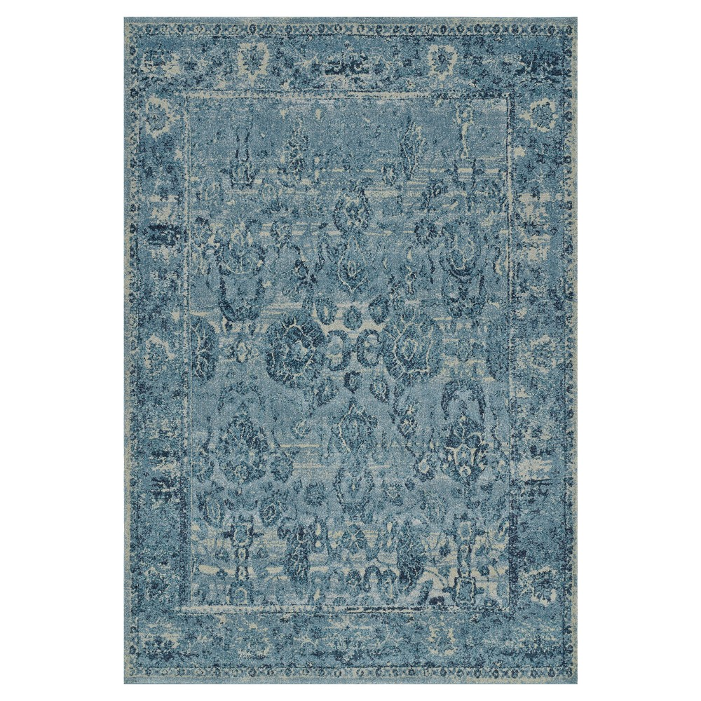 "Image of ""3'3""""X5' Blue Abstract Woven Accent Rug - Addison Rugs"""