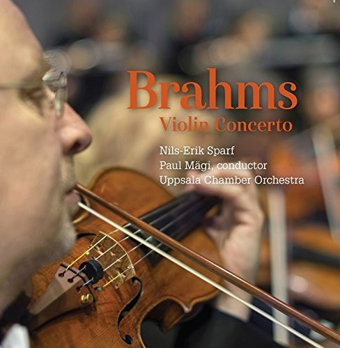 Uppsala Chamber Orch - Brahms:Violin Concerto (CD) - image 1 of 1